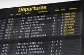 Terminal Info Board — Foto Stock