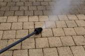 High Pressure Cleaning — Stock Photo
