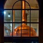 Distillery tanks brewery — Stock Photo #74059497
