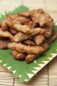 Breaded pork — Stock Photo