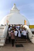 KATARAGAMA, SRI LANKA - MAY 05:  Saga Dawa Festival  to celebrat — Stock fotografie