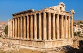 Temple of Bacchus in Baalbek ancient Roman ruins, Beqaa Valley of Lebanon. Known as Heliopolis during the period of Roman Empire. — Stock Photo