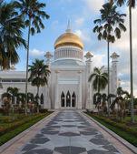 Sultan Omar Ali Saifuddin Mosque  in Bandar Seri Begawan - Brunei — Foto de Stock