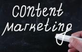 Marketing de contenidos — Foto de Stock