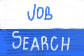 Job search concept — Stock Photo