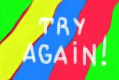 Try again concept — Stock Photo