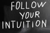 Follow your intuition — Stock Photo