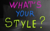 What's your style? — 图库照片