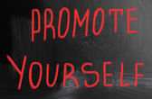 Promote yourself — Foto Stock