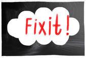 Fix it concept — Stock Photo