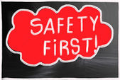 Safety first! — Stock Photo