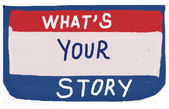 What's your story? — Foto de Stock