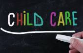 Childcare concept — Stok fotoğraf