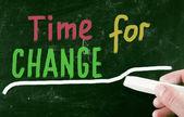Değişim zamanı — Stok fotoğraf