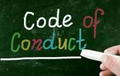 Code of conduct concept — Stock Photo