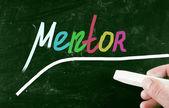 Mentor concept — Stock Photo