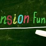 Постер, плакат: Pension funds concept