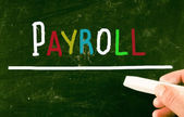 Payroll concept — Stock Photo