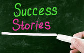 Success stories concept — Stock Photo