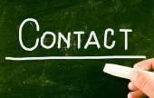 Contact concept — Stock Photo