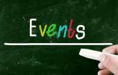 Events concept — Stock Photo
