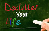 Declutter your life concept — Stock Photo