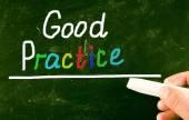 Concept de bonnes pratiques — Photo