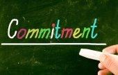 Commitment concept — Stock Photo