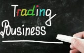 Trading business concept — Stock Photo