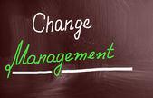 Gestione del cambiamento — Foto Stock
