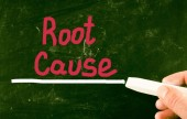 Root cause concept — Stock Photo