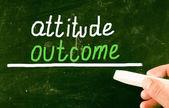 Attitude concept — Stock Photo