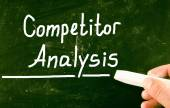 Competitor analysis concept — Stock Photo