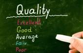 Quality concept — Stock Photo