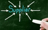 Supplier concept — Stock Photo