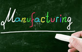 Manufacturing concept — Stock Photo