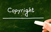 Copyright concept — Stock Photo