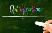 Optimization concept — Stock Photo