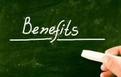 Benefits concept — Stock Photo