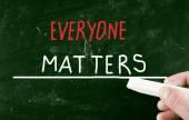 Everyone matters — Stock Photo