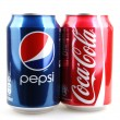 ������, ������: AYTOS BULGARIA DECEMBER 11 2014: Photo of a Coca Cola and Pepsi 330 ml cans Coca cola and Pepsi are among the most popular carbonated drinks in the world