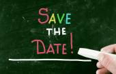 Save the date! — Stock Photo