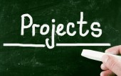 Projects concept — Stock Photo