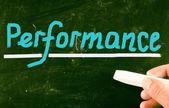 Performance concept — Stock Photo