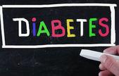 糖尿病の概念 — ストック写真
