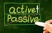 Active concept — Stock Photo
