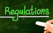 Regulations concept — Stock Photo