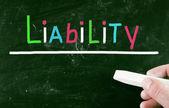 Concepto de responsabilidad — Foto de Stock
