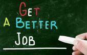 Get a better job — Stock Photo