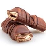 AYTOS, BULGARIA - APRIL 03, 2015: Kinder Bueno Chocolate Candy Bar. Kinder Bueno Is A Chocolate Bar Made By Italian Confectionery Maker Ferrero. — Stock Photo #69380791